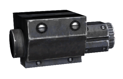 12.7mm SMG laser sight
