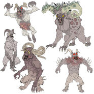 FO76 Chris Ortega concept (The SheepSquatch Monster) (8)
