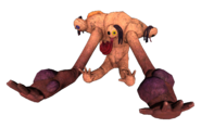 Wendigo colossus plushie
