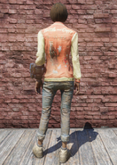 FO76 Bottle and Cappy red jacket & jeans back