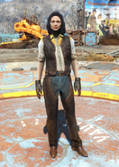 Fo4 Western Outfit and Chaps female