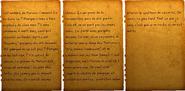 FO76 Page de journal de Maude