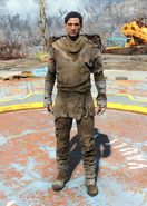 Fo4Radstag Hide Outfit male