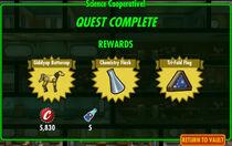 FoS Science Cooperative! rewards C