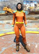 Captain Cosmos space suit female