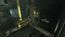 FO3 Rivet City Capitol Preservation Society stairs