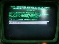 FO3 Wheaton Armory computer terminal bug