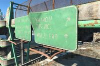 FO4 Fin Distr road sign