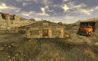 Gypsum quarry office