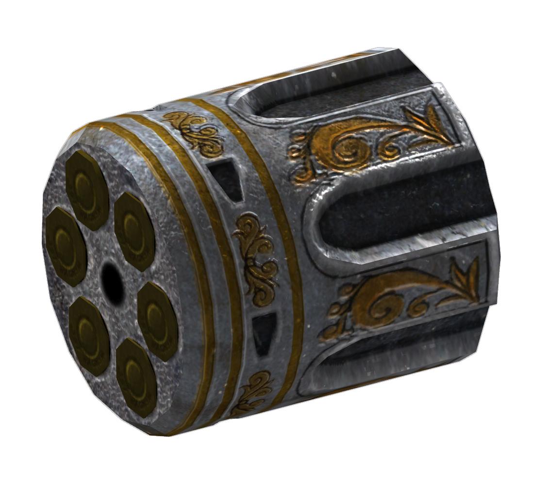 .357 revolver HD cylinder