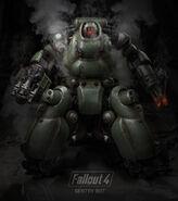Sentry Bot Poster