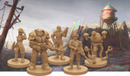 FBGNC character pieces