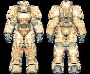FO4CC T-60 power armor desert camo