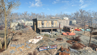 FO4 National Guard Training Grounds