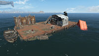 FO4 Spectacle Island (Barge Platform)
