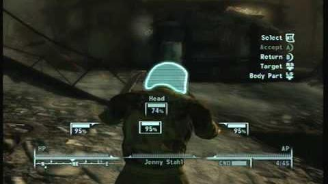 Fallout 3 - Mysterious Stranger is unwelcome
