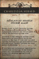 Charles Herald - Assassin strikes again note.png