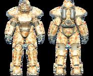 FO4CC T-51 power armor desert camo