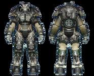 FO4CC X-01 power armor gunner captain