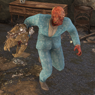 FO76 Holiday scorched Festive Winter Pant Suit
