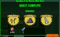 FoS Guardian of the Wastes Mole rats! rewards