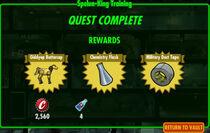 FoS Spelun-King Training rewards A