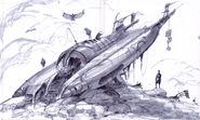 Alien crash site CA1