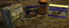 Caravan lunch ingredients