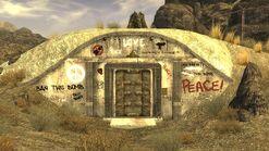FNV Hidden Valley bunker Entrance
