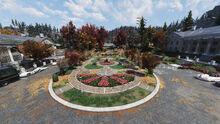 FO76 The Whitespring Resort (flower garden)