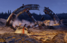 Fo76 Crashed space station BETA