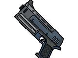 Amata's pistol