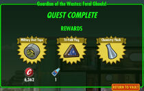 FoS Guardian of the Wastes Feral Ghouls! rewards