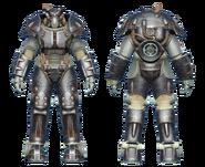 FO4CC X-01 power armor onyx