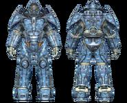 FO4CC X-02 power armor aquatic camo