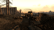 Fo3 Abandoned Military Checkpoint