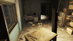 FO4 Cambridge Police station evidence room 2.png