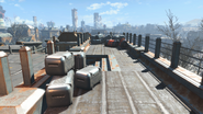 FO4 Cambridge Police station rooftop 3