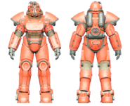 FO4CC T-51 power armor red