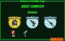 FoS Christmas at the Raider Camp rewards
