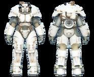 FO4CC X-01 power armor white