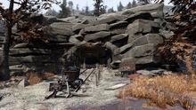 FO76 Kerwood Mine Sign