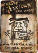 Jerky vendor own stand cover