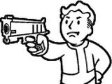 Weathered 10mm pistol
