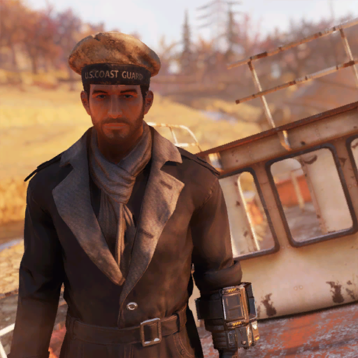 Coast Guard hat (Fallout 76)