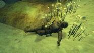 FNV Bloodborne Cave NCR trooper