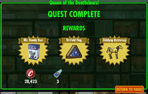 FoS Queen of the Deathclaws! rewards