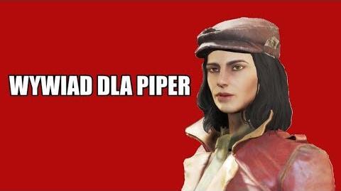 Wywiad dla Piper