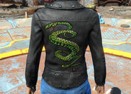 FO4CC Tunnel Snakes outfit back