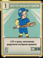 FO76 Master Slugger card